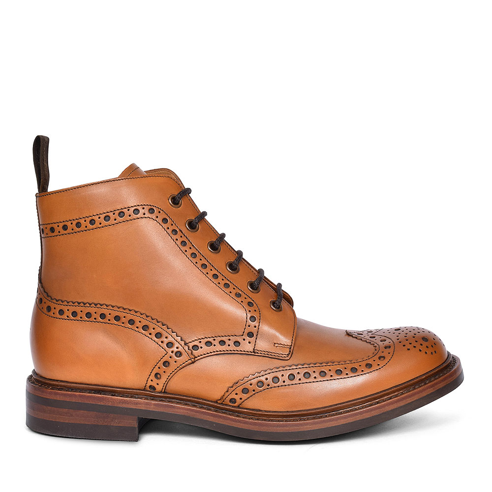 BEDALE DERBY BROGUE BOOT FOR MEN in TAN