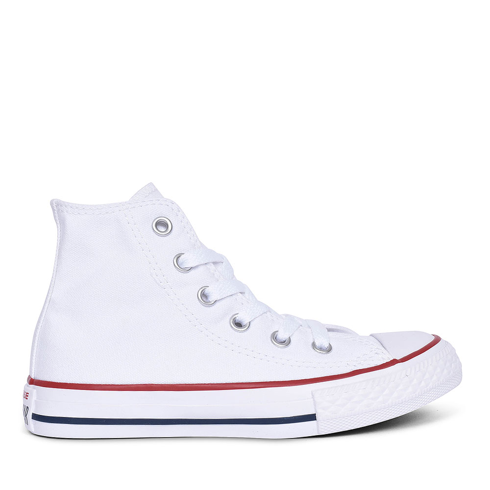 CHUCK TAYLOR ALL STAR - HI in WHITE FOR JUNIORS