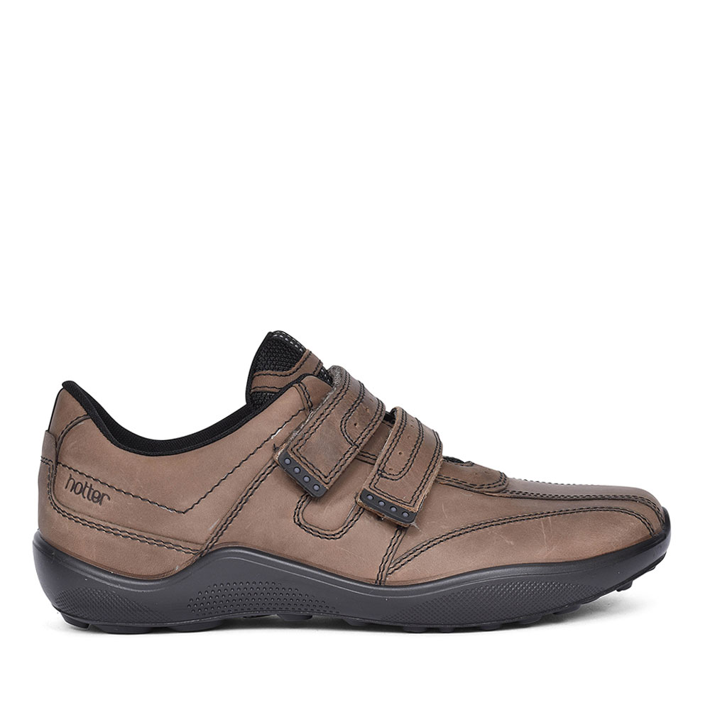 ENERGISE STD FIT CASUAL VELCRO SHOES FOR MEN in MUSHROOM