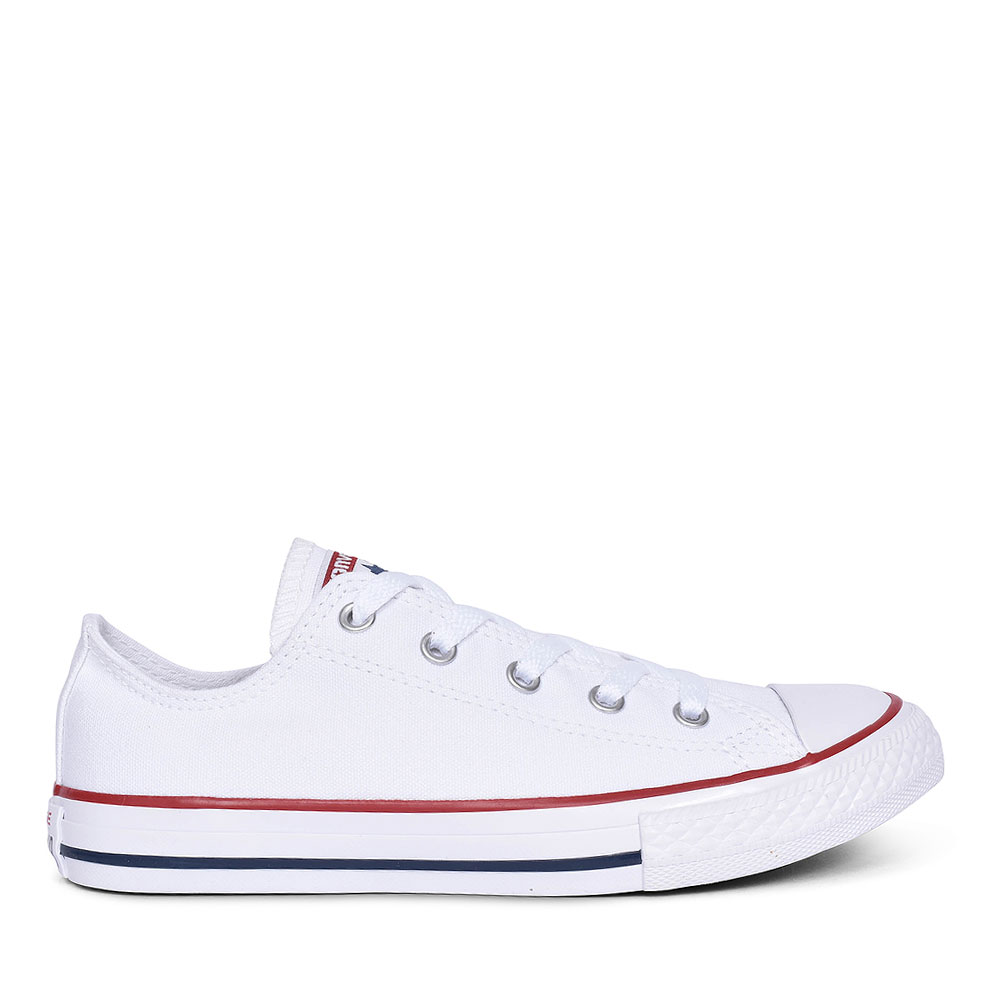 CHUCK TAYLOR ALL STAR - OX in WHITE FOR JUNIOR