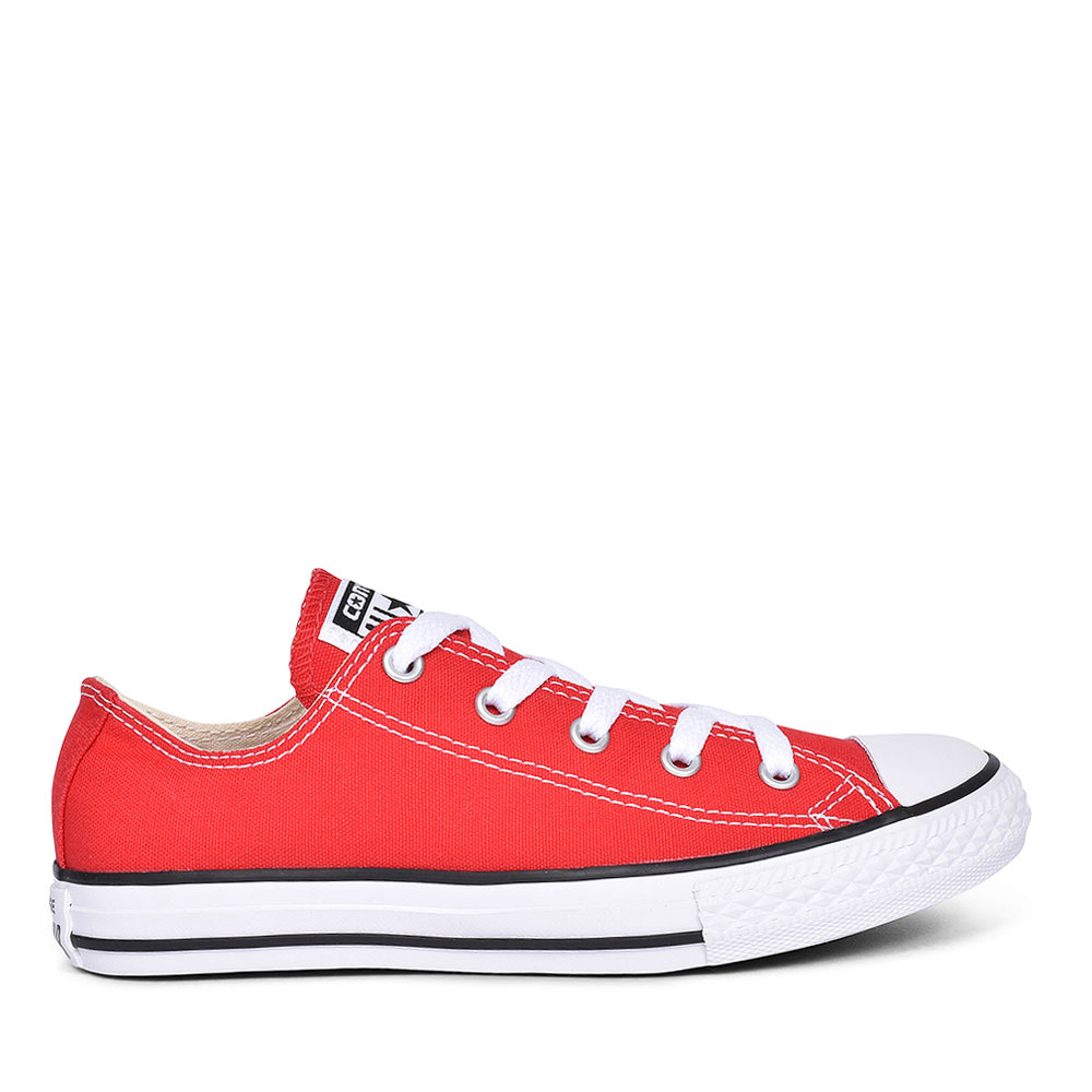 CHUCK TAYLOR ALL STAR - OX in RED FOR JUNIOR