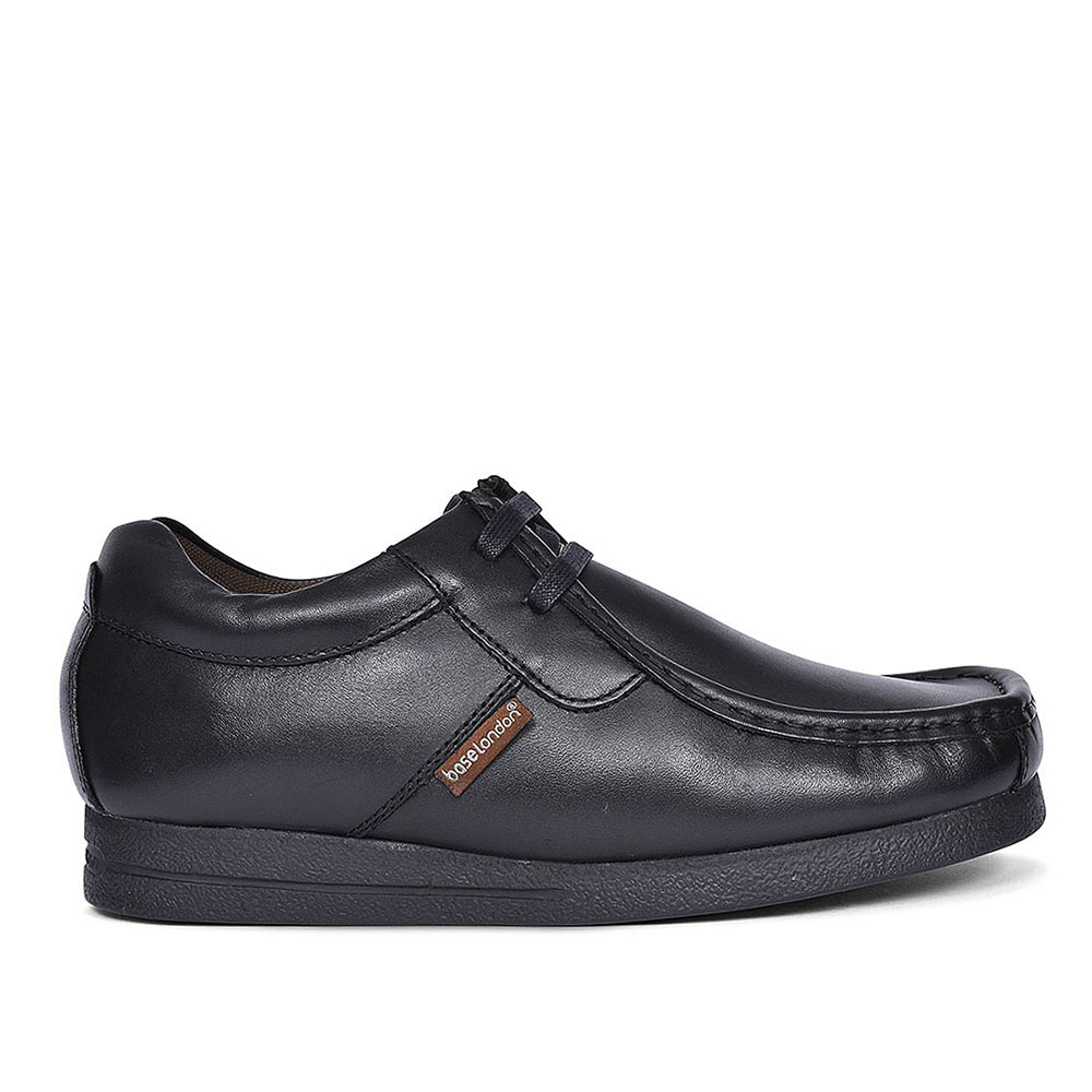 STORM CASUAL SHOES FOR MEN in BLK LEATHER