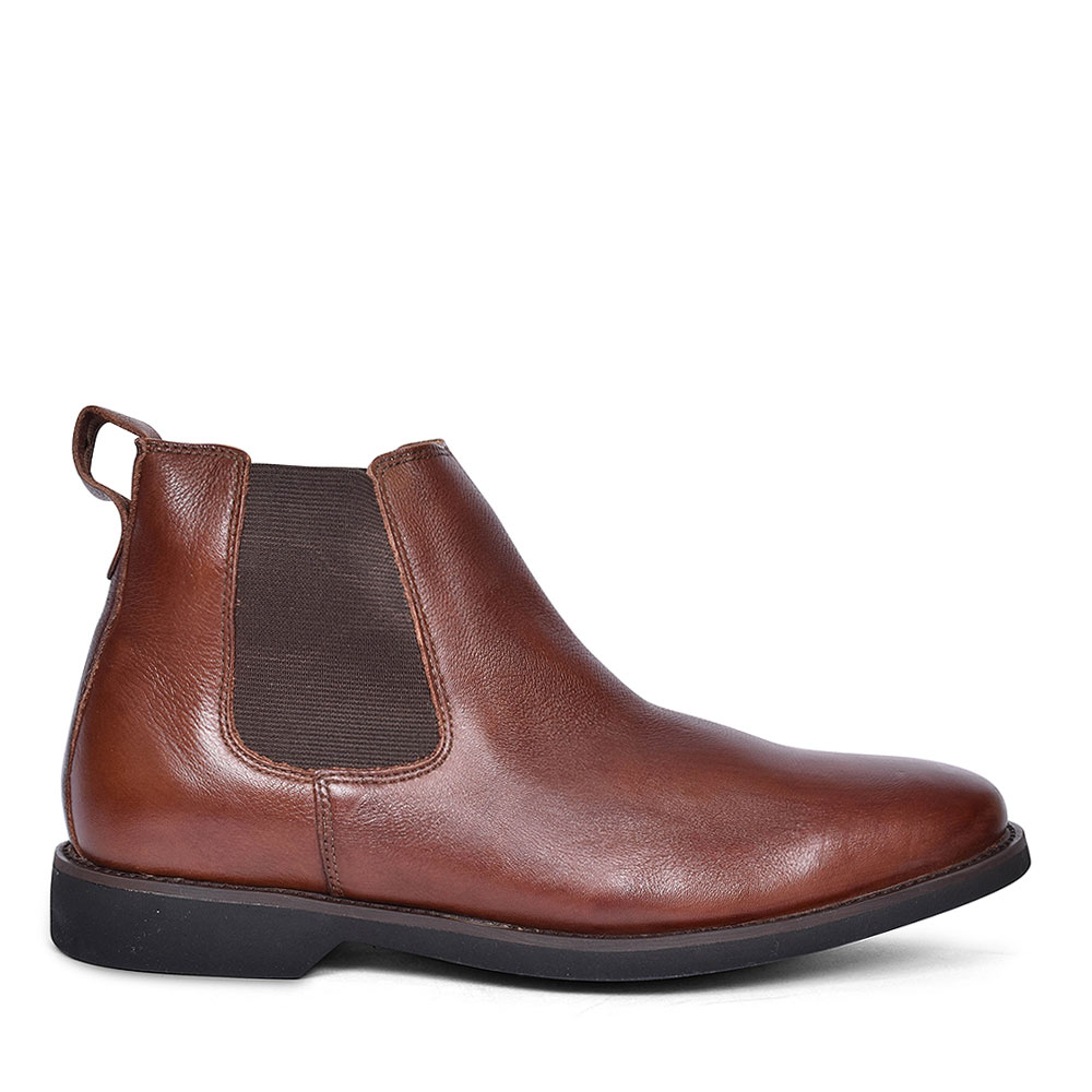 565692 CARDOSO PINHAO BROWN CHELSEA BOOTS FOR MEN  in TAN