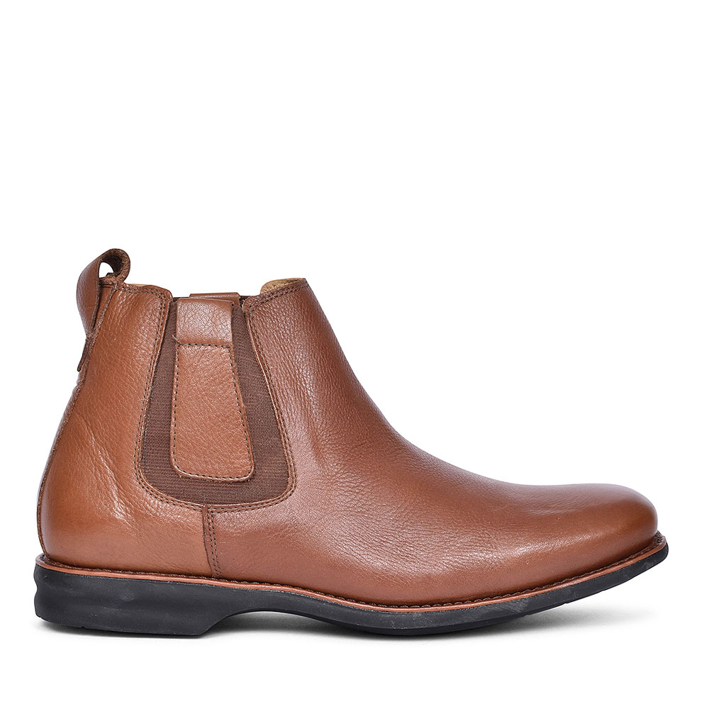 740353 AMAZONAS SLIP ON CHELSEA BOOT FOR MEN in TAN