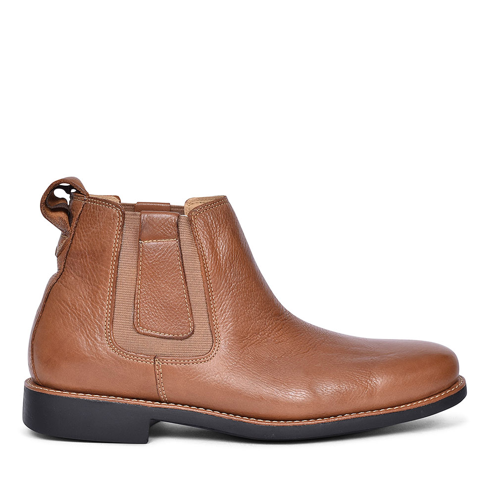 818153 Natal slip on Chelsea Boots for Men in BROWN