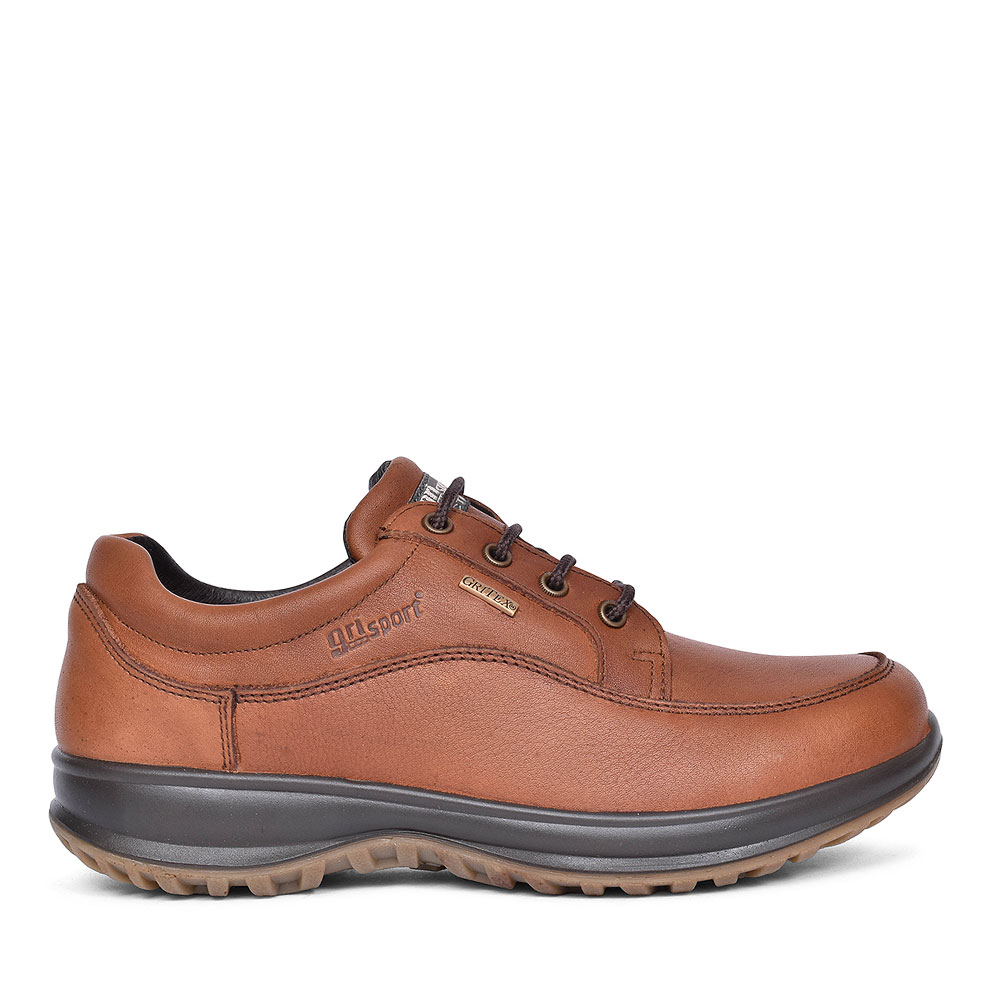 BMG050 Livingston Tan Laced Walking Shoes for Men in TAN