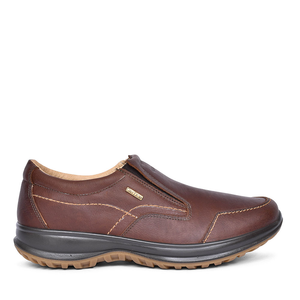 BMG057 Melrose Slip On Walking Shoes for Men in BROWN
