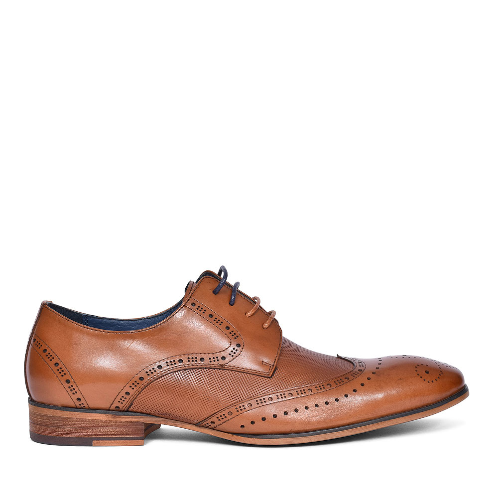 TWICKENHAM BROGUE SHOE FOR MEN in TAN