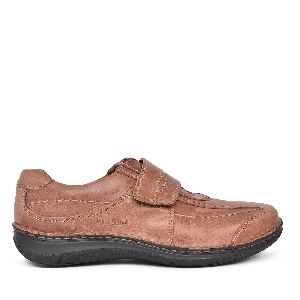 CASUAL VELCRO SHOES FOR MEN in TAN