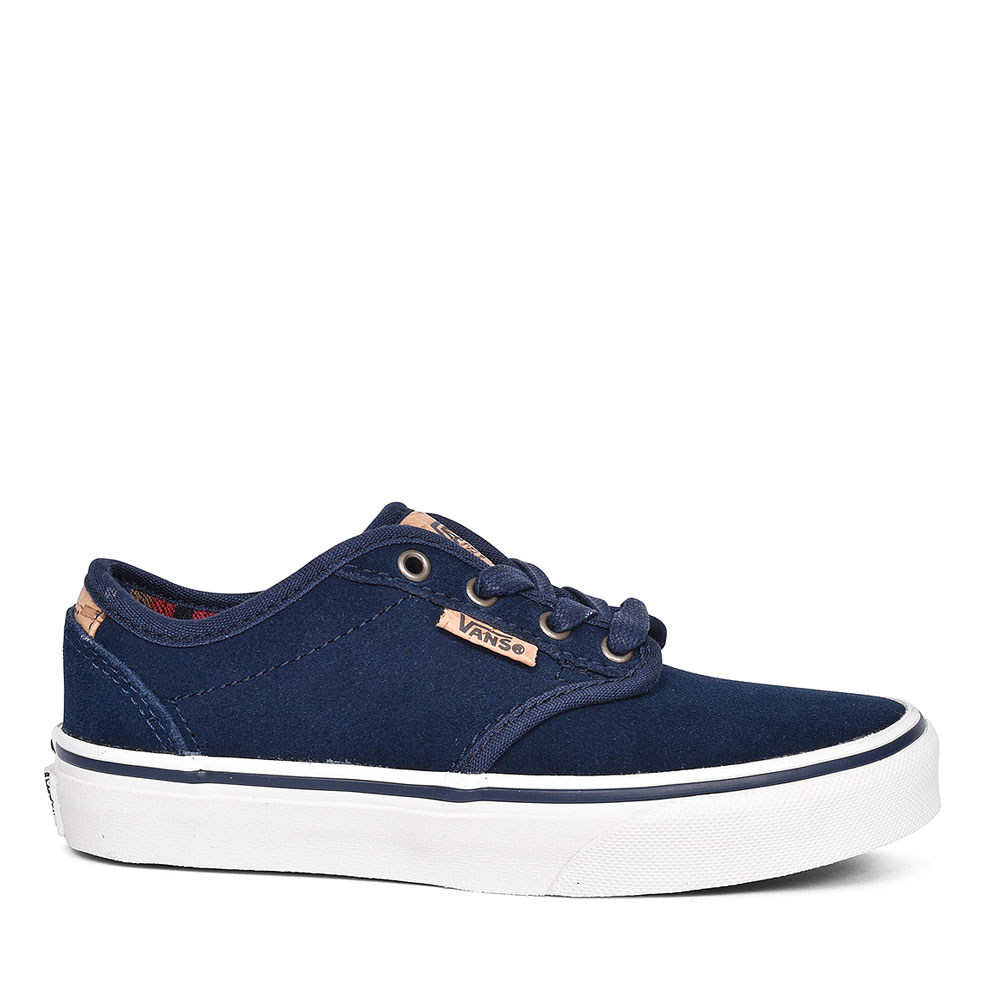 SUEDE ATWOOD DELUXE SHOE FOR BOYS in BLUE