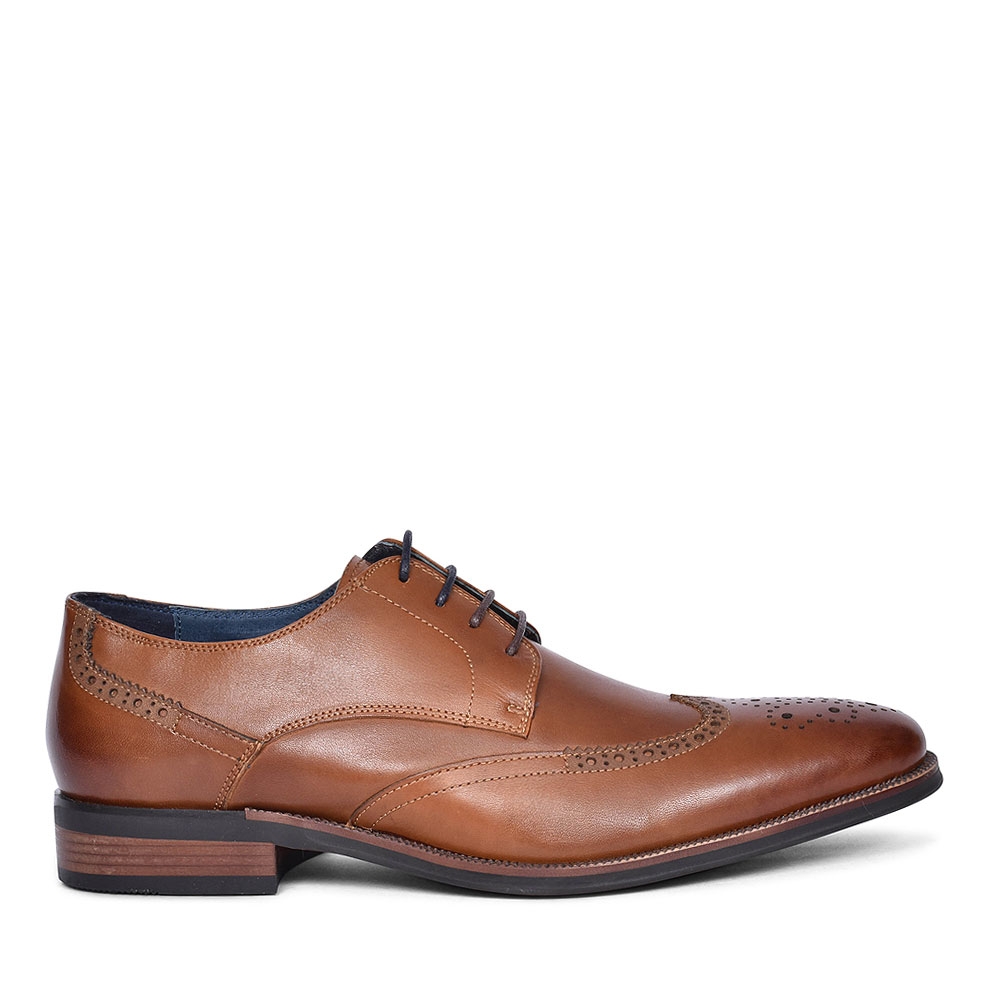 ETIHAD BROGUE SHOE FOR MEN in BROWN