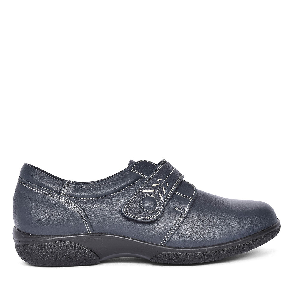 HEALEY 4E PLAIN TOE SHOE FOR LADIES  in NAVY