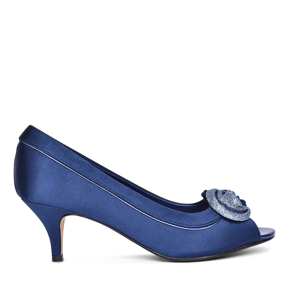 RIPLEY FLR 222 COURT SHOES FOR LADIES in NAVY