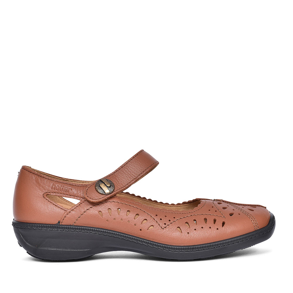 CHILE CASUAL MARY JANE SHOES FOR LADIES in TAN