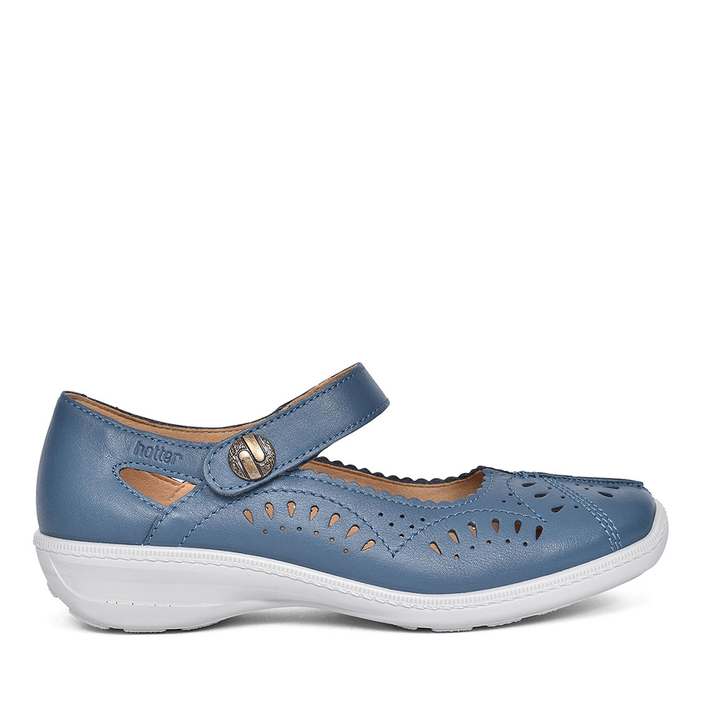 CHILE CASUAL MARY JANE SHOES FOR LADIES in BLUE