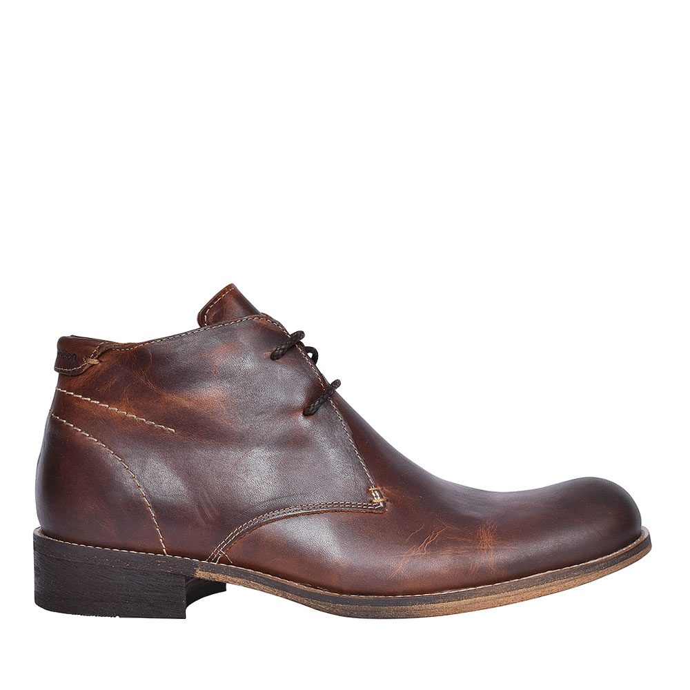 Gravel Laced Boots for Men in BROWN