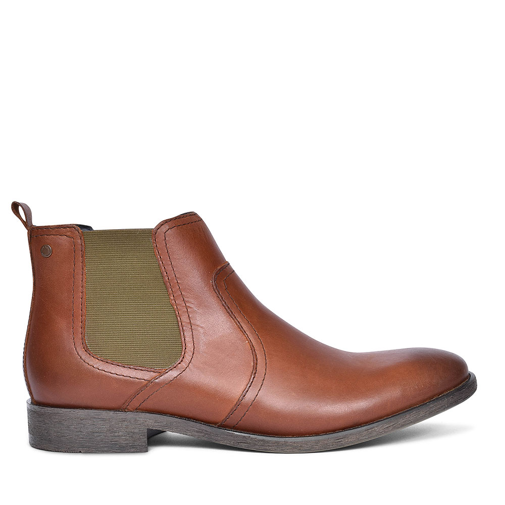 Combust  Chelsea Ankle Boots for Men in TAN