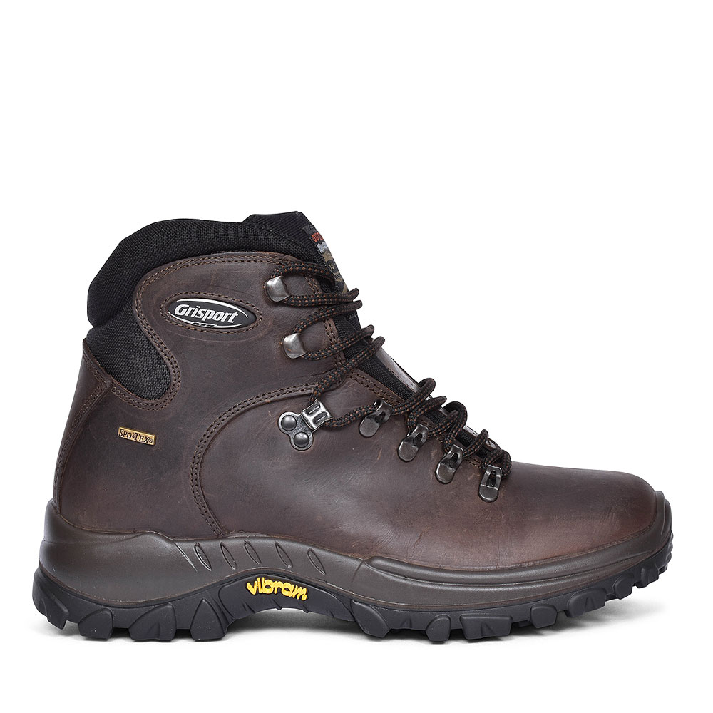 CMG473 Everest Walking Boot for men in BROWN