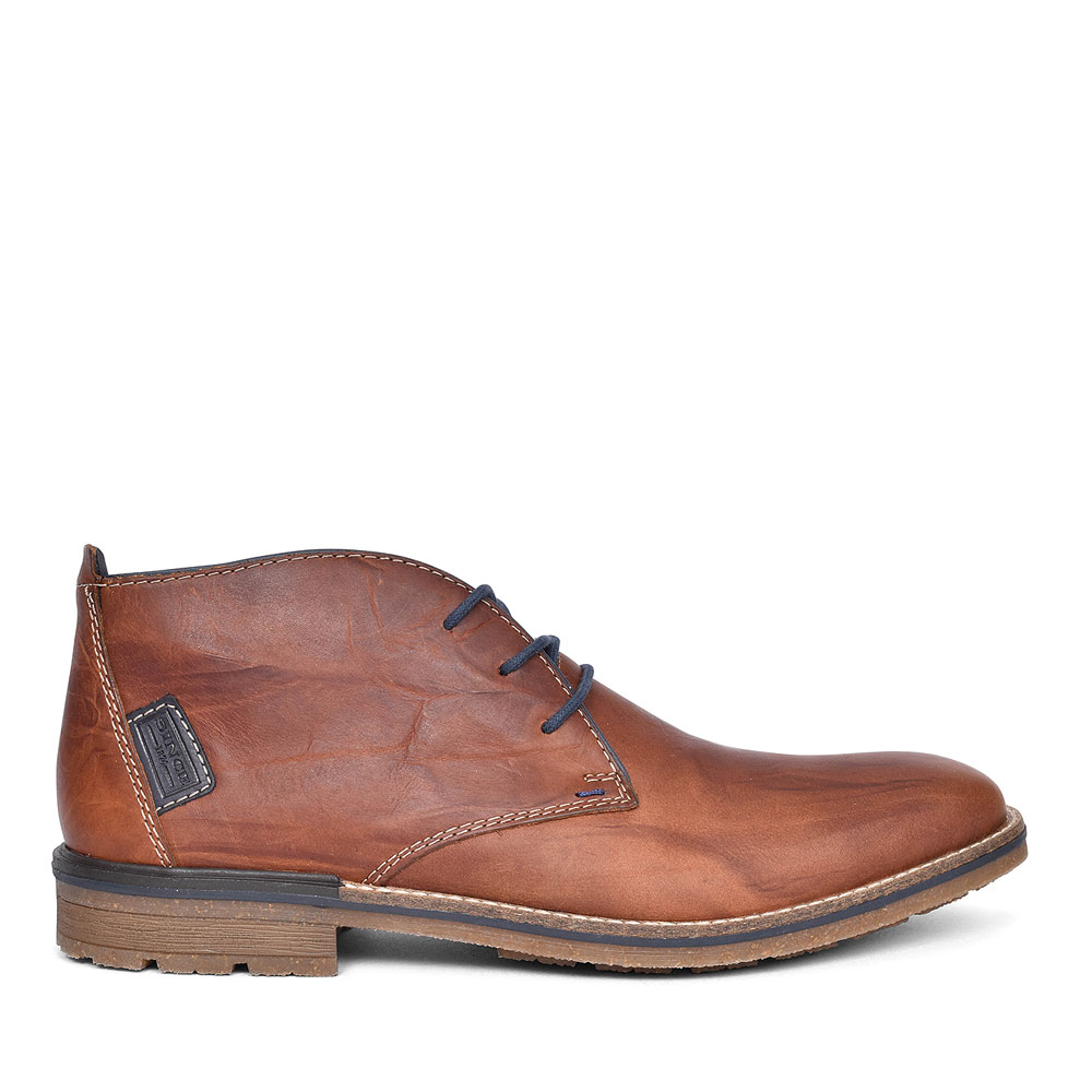 CASUAL CHUKKA BOOT FOR MEN in BROWN