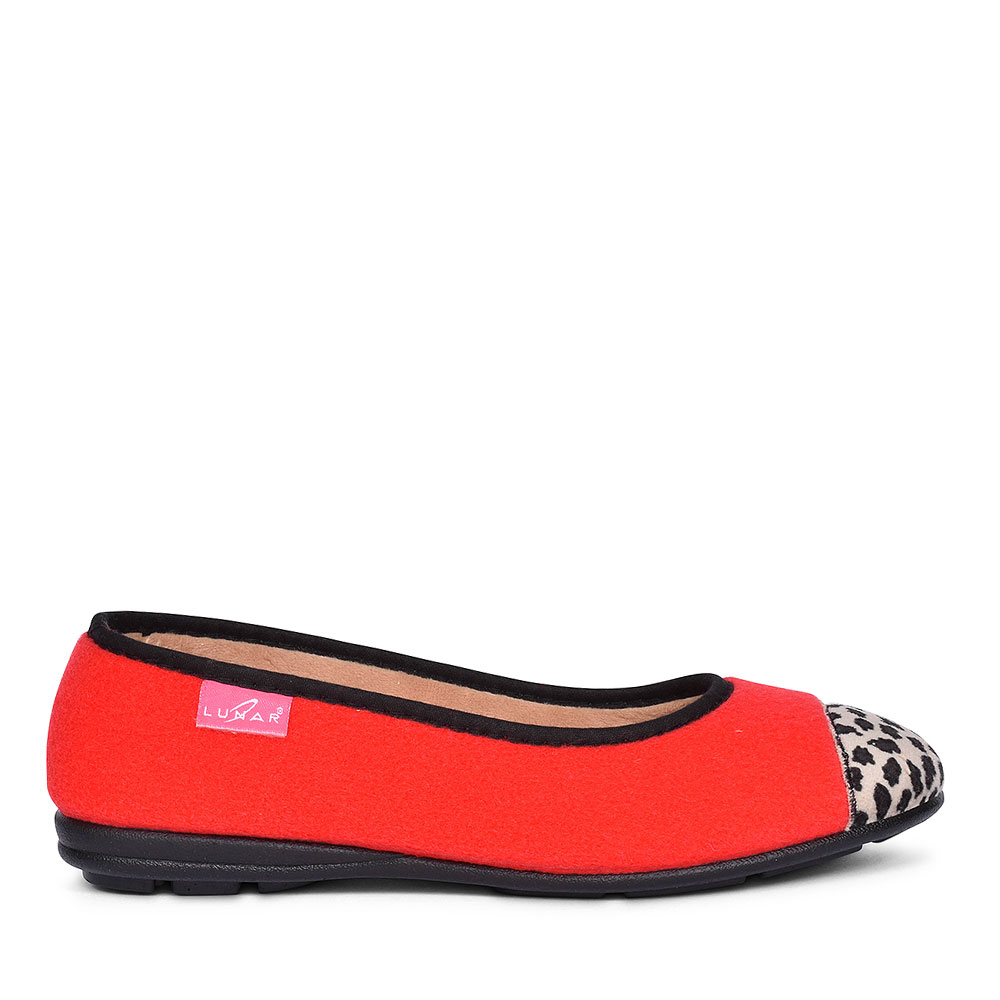DENISE 11 SLIPPERS FOR LADIES in RED