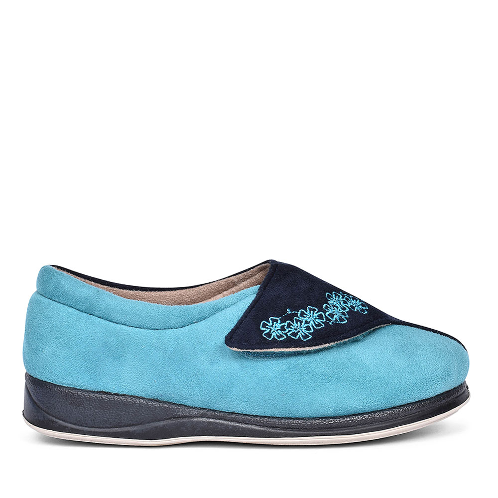 HUG TWO TONE SLIPPERS FOR LADIES in NAVY