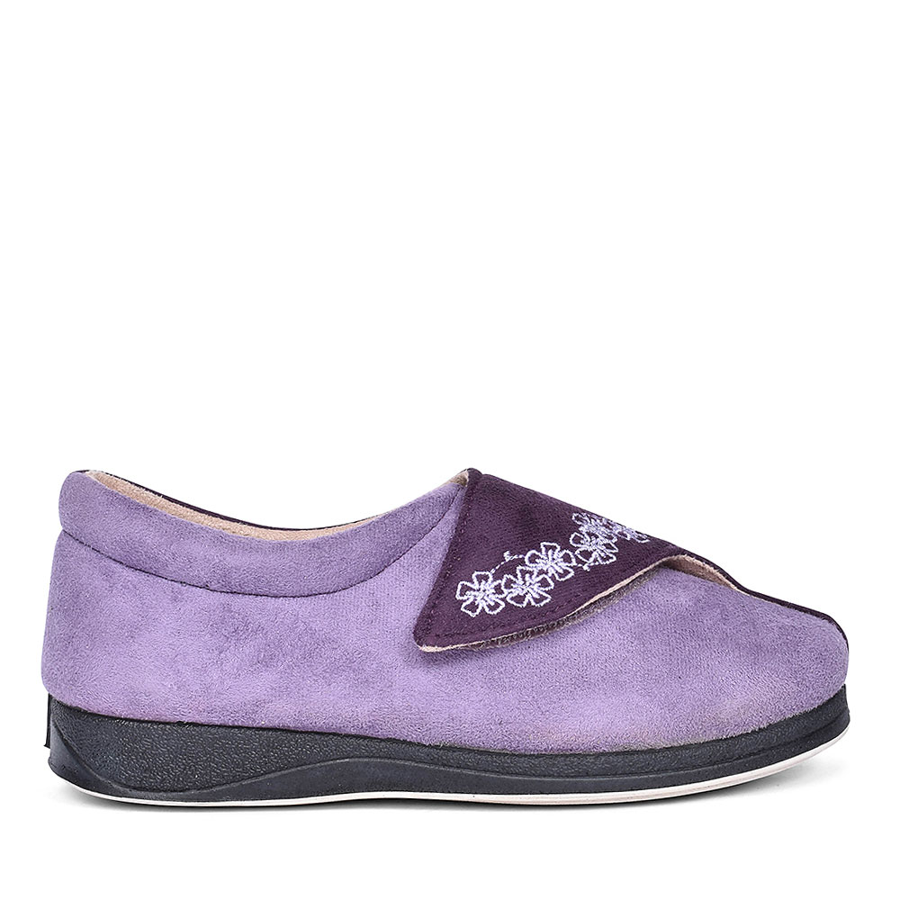 HUG TWO TONE SLIPPERS FOR LADIES in PURPLE