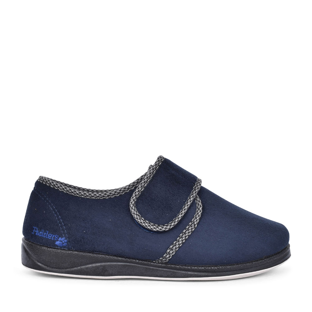 HARRY VELCRO SLIPPER FOR MEN in NAVY