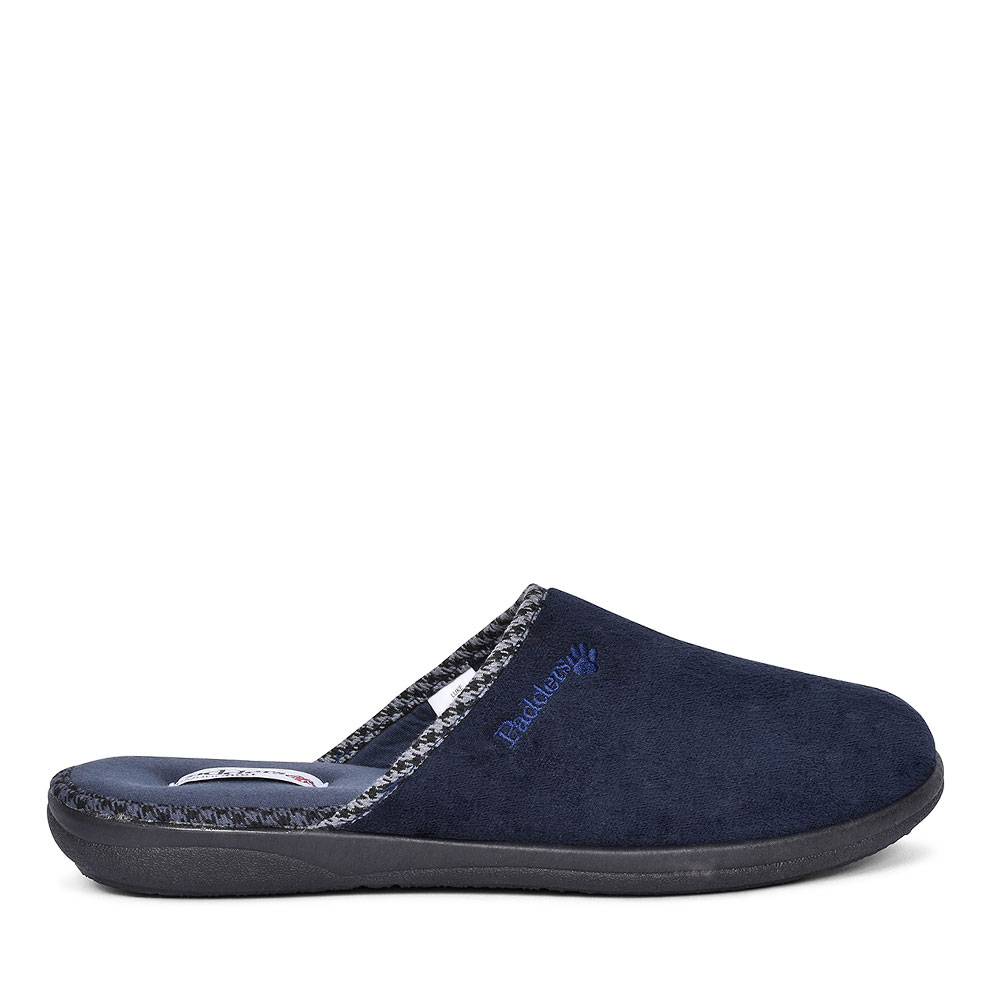 LUKE MULE SLIPPERS FOR MEN in NAVY