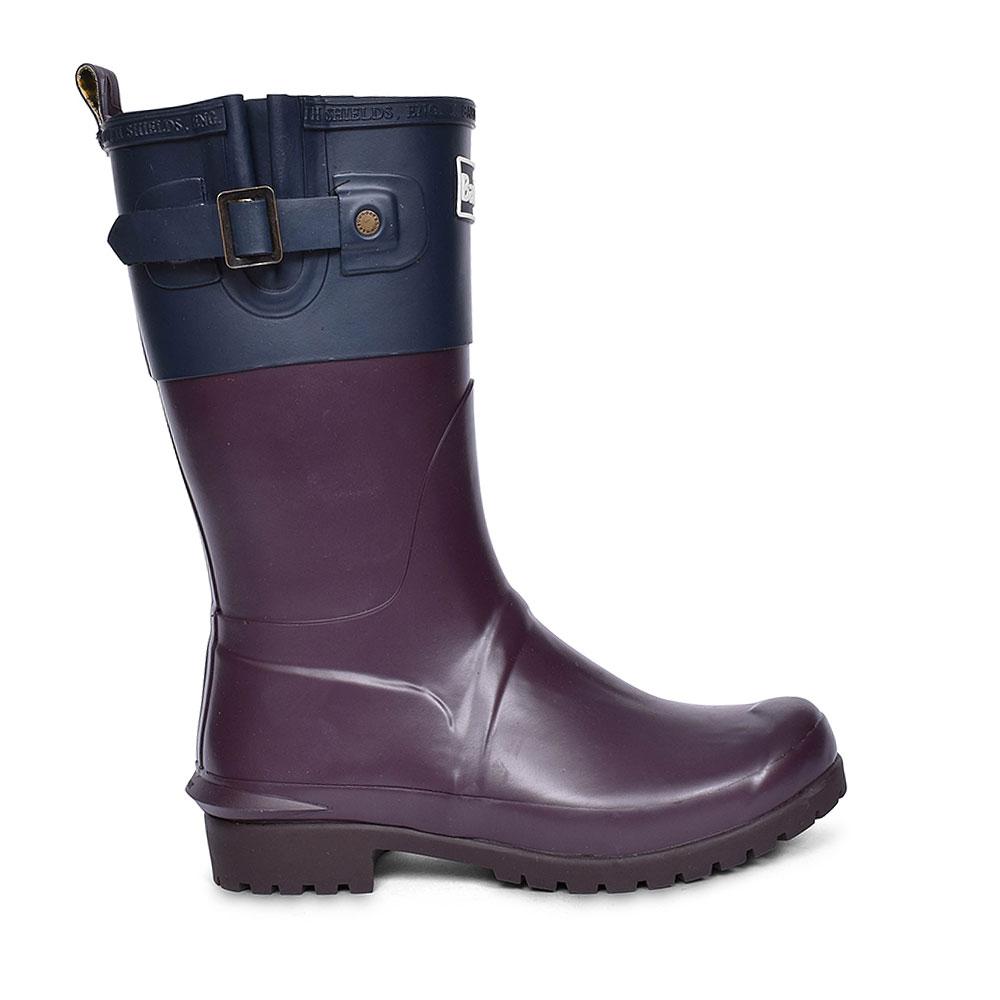 Adjustable Wellington Boots for Women in PURPLE