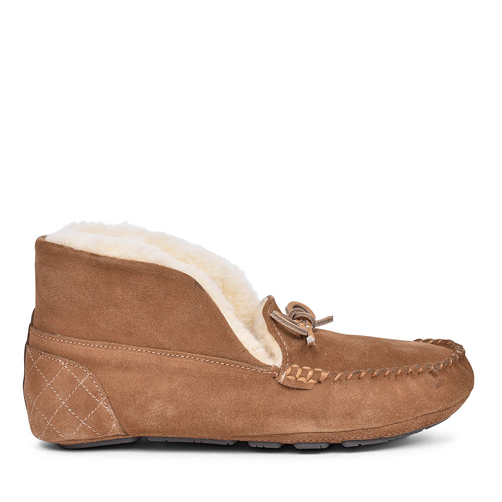 Patsy Slippers with bows for Women in CAMEL