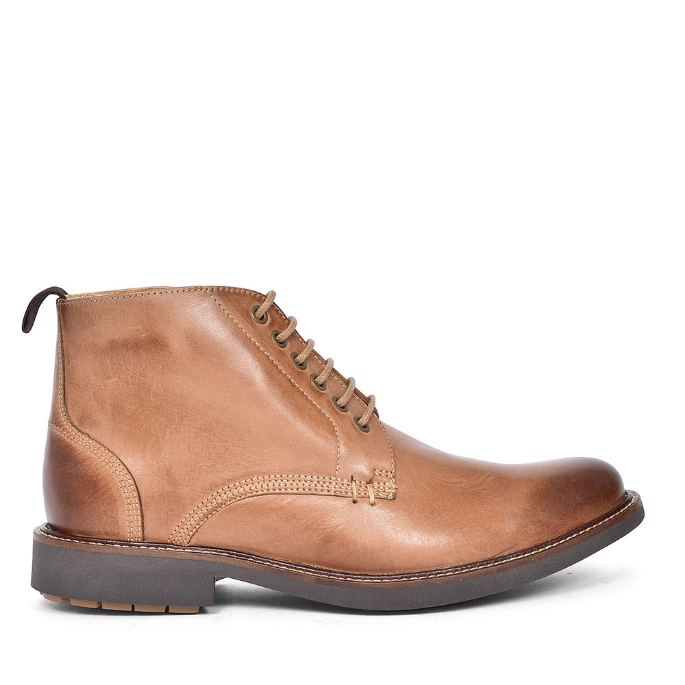 909056 PEDRAS II LACED BOOT FOR MEN in TAN