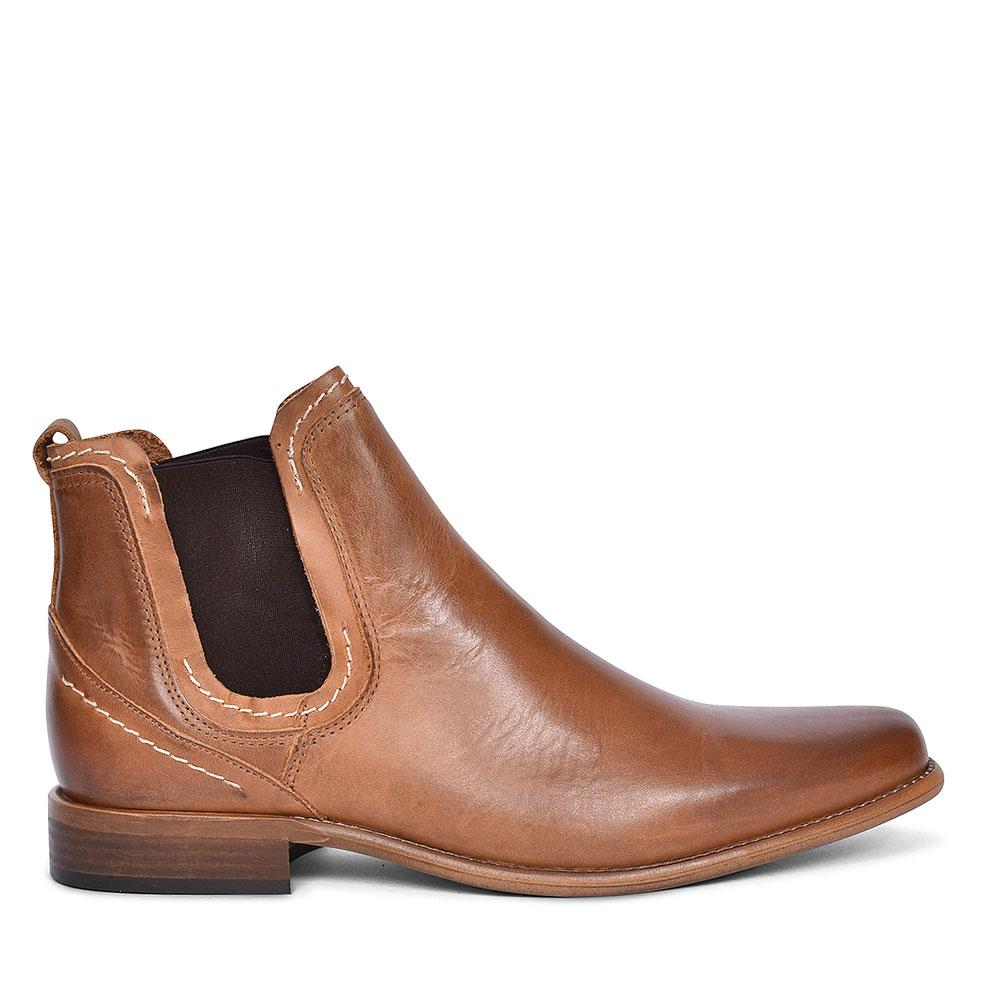 AUSTIN CHELSEA SLIP ON BOOT FOR MEN in TAN