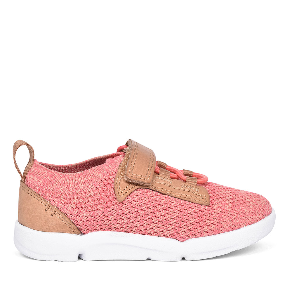 CORAL GIRLS SPORTS SHOES in KIDS FIT F