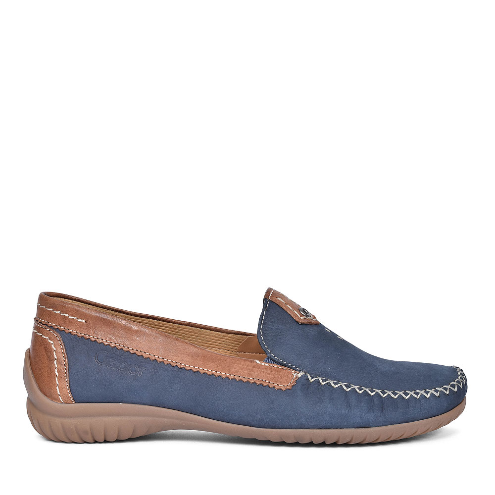 86.090 WOMENS CASUAL MOCCASINS in NAVY