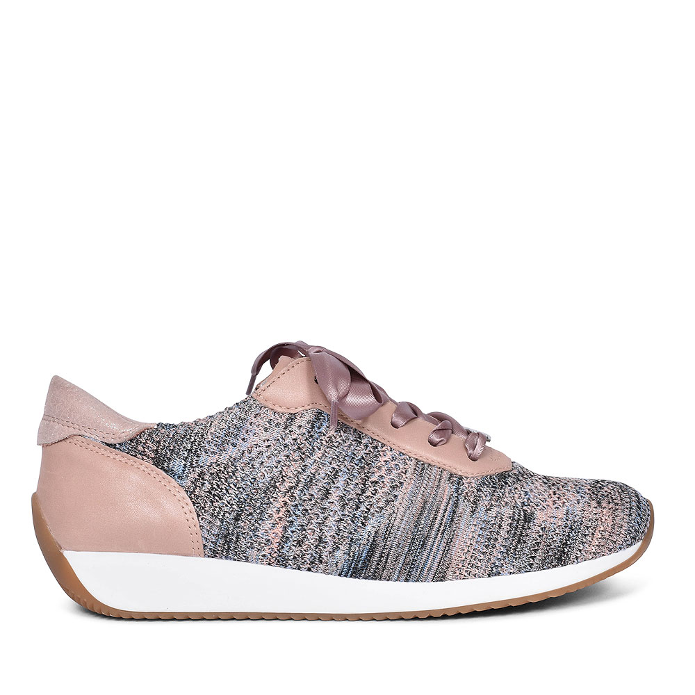 LISSABON WOMENS CASUAL SPORTS TRAINERS  in BEIGE