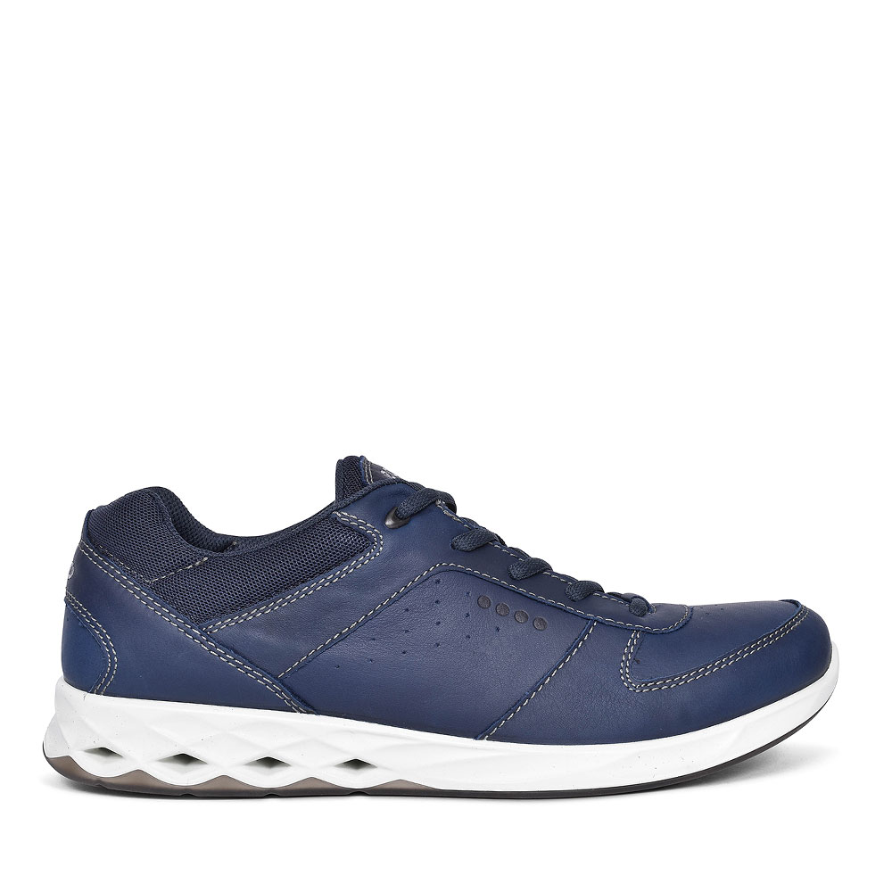 MENS WAYFLY CASUAL TRAINERS in NAVY