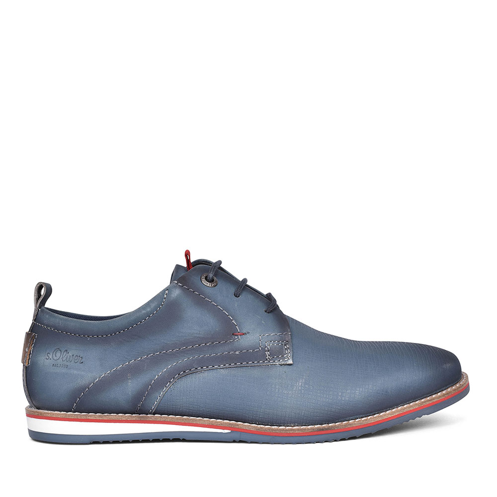 MENS CASUAL LACE UP SHOES in NAVY