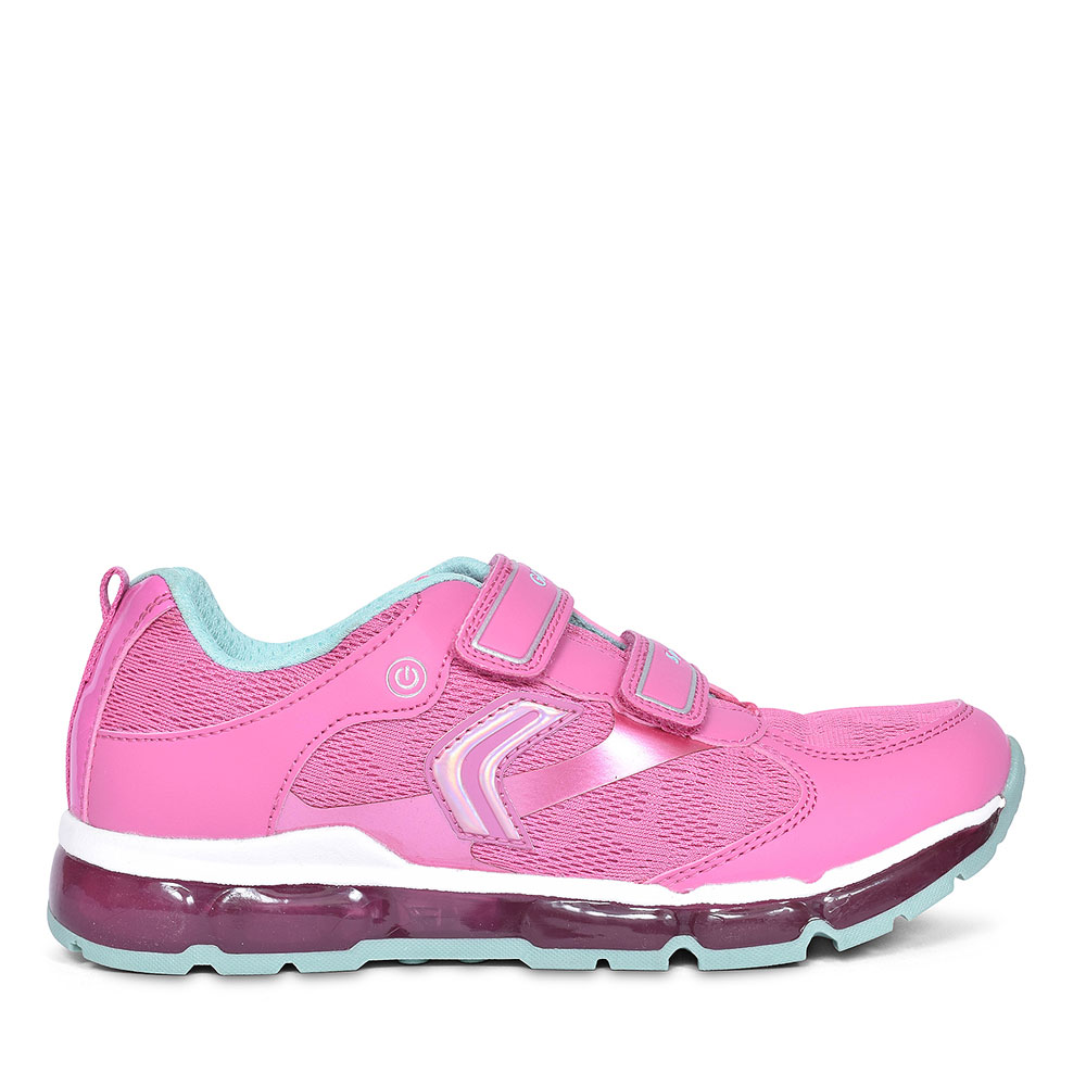 JUNIOR ANDROID GIRLS TRAINERS in PINK