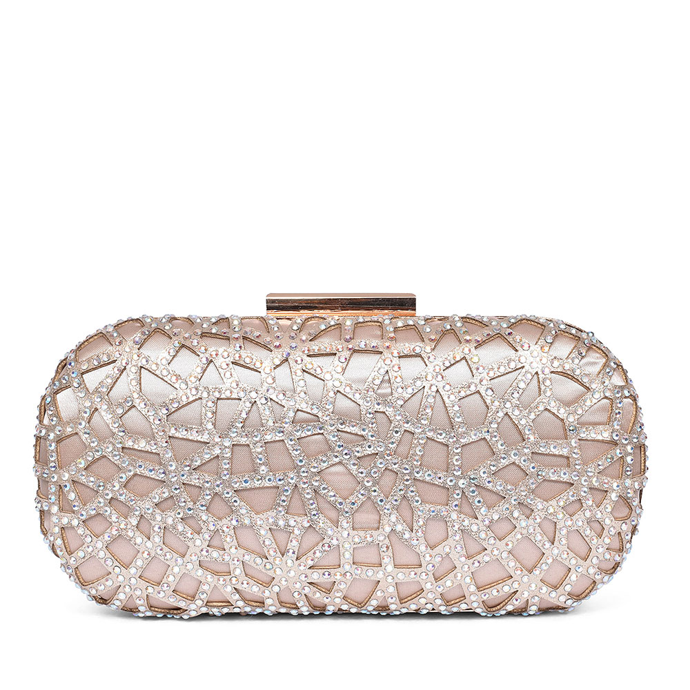 LADIES DORADO ZLR471 CLUTCH BAG  in GOLD
