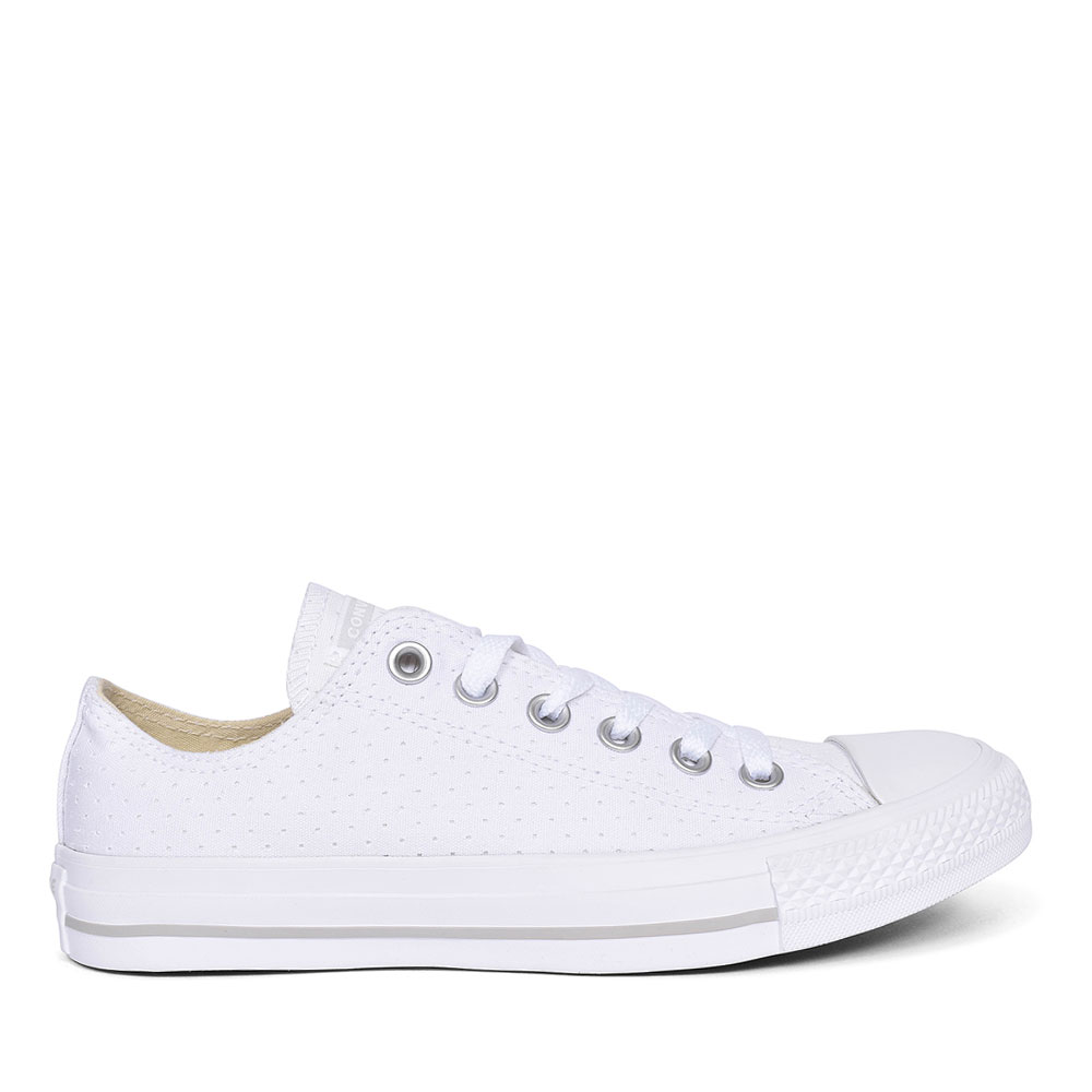 ALL STAR CANVAS TRAINER FOR LADIES in WHITE FOR ADULTS