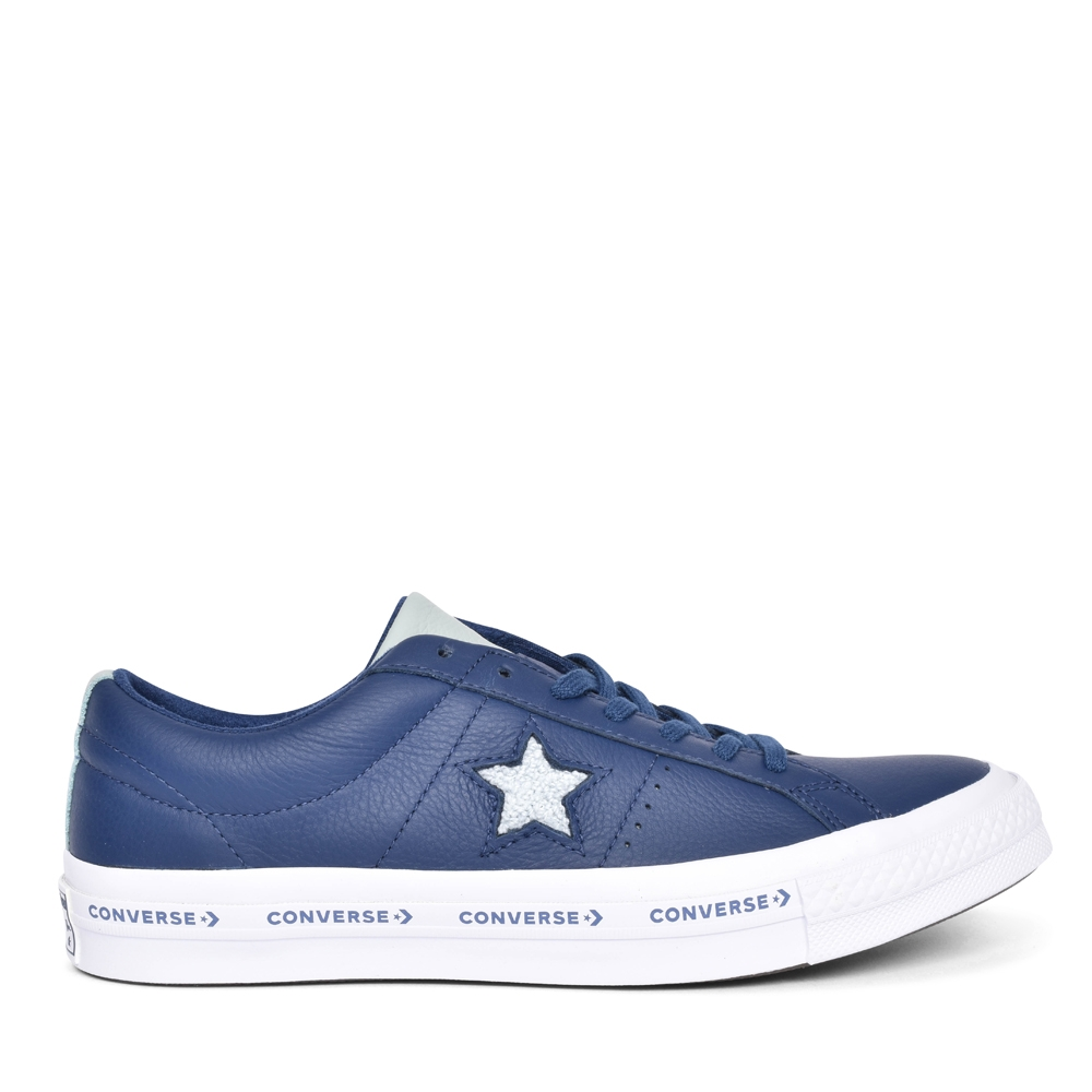 UNISEX ONE STAR OX SHOES in NAVY FOR ADULTS
