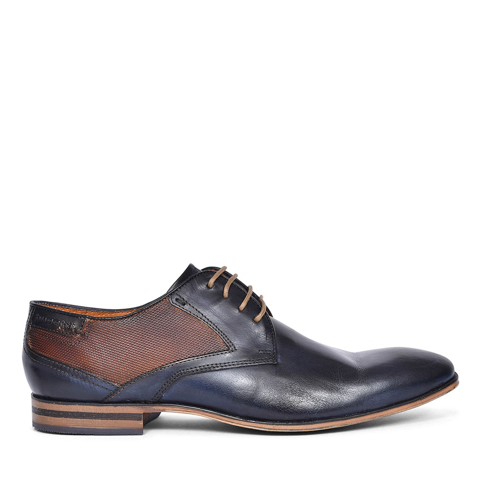 TWO-TONE FORMAL SHOES FOR MEN in NAVY