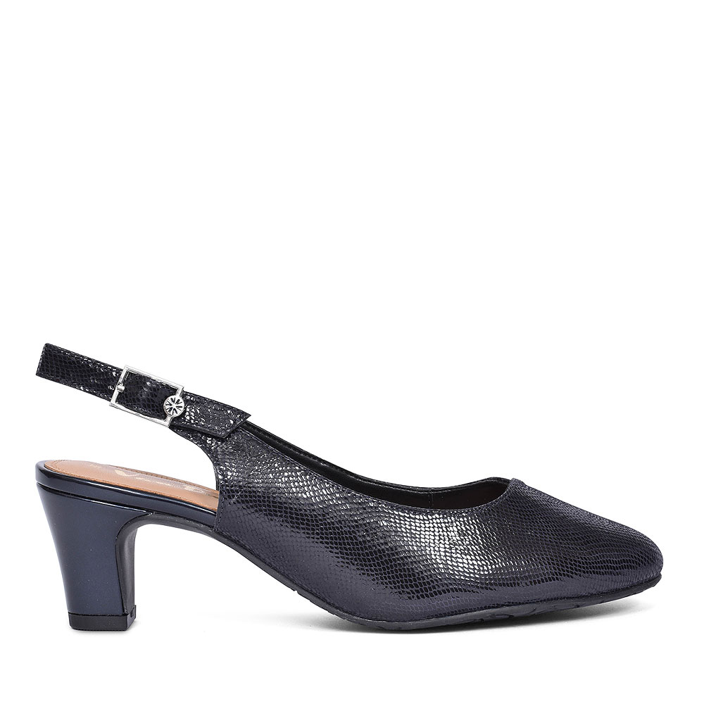 WINTON WOMENS SLINGBACK SHOES in NAVY