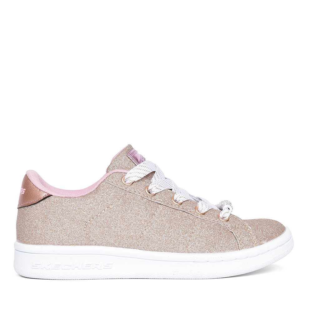 OMNE SHIMMER STREET GIRLS SHOE in GOLD
