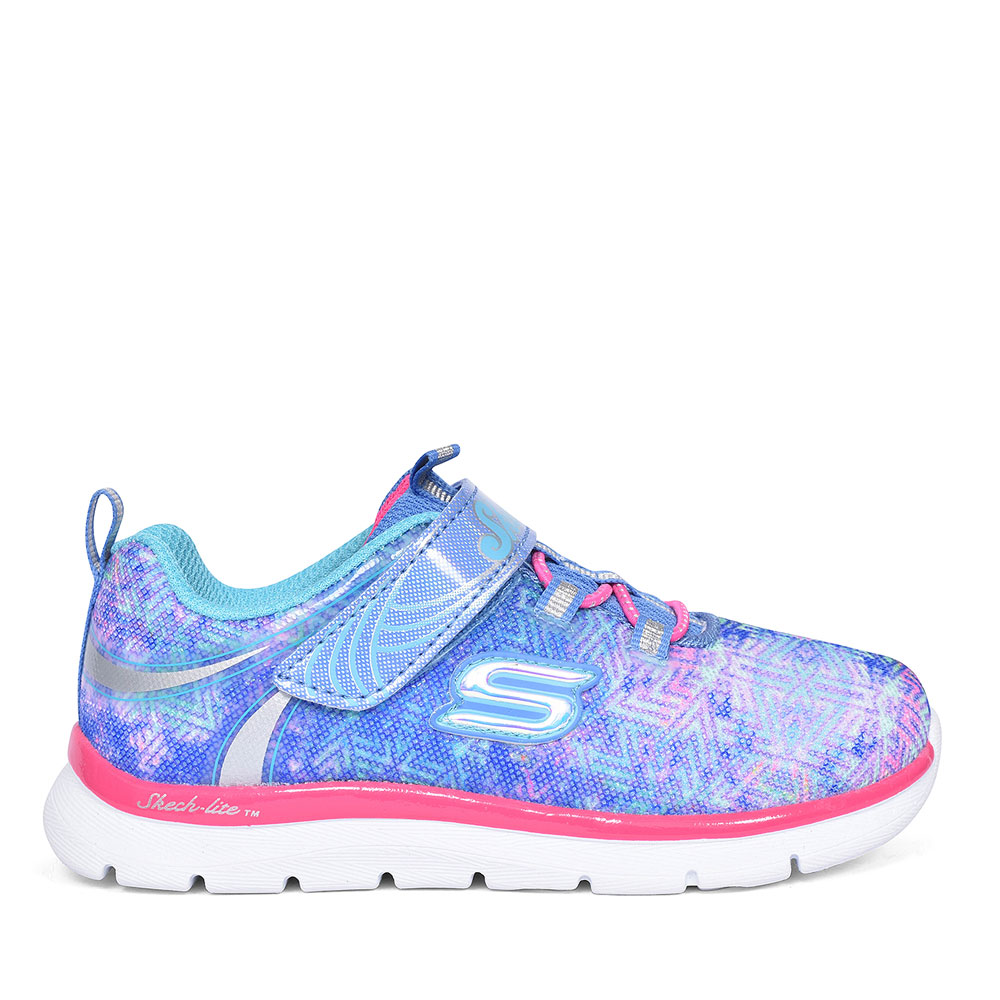 SKECH-LITE TRAINERS FOR GIRLS in BLUE