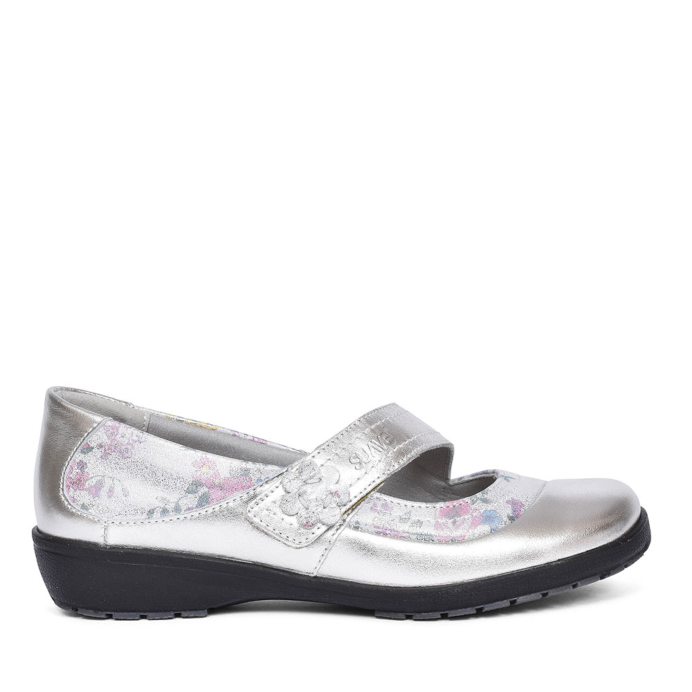 JOY FLORAL MARY JANE SHOES FOR LADIES in MULTI-COLOUR
