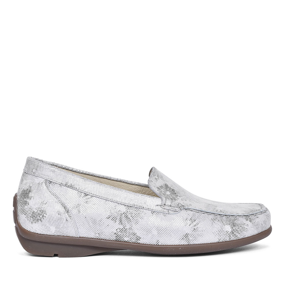 HARRIET MOCCASINS FOR LADIES in GREY