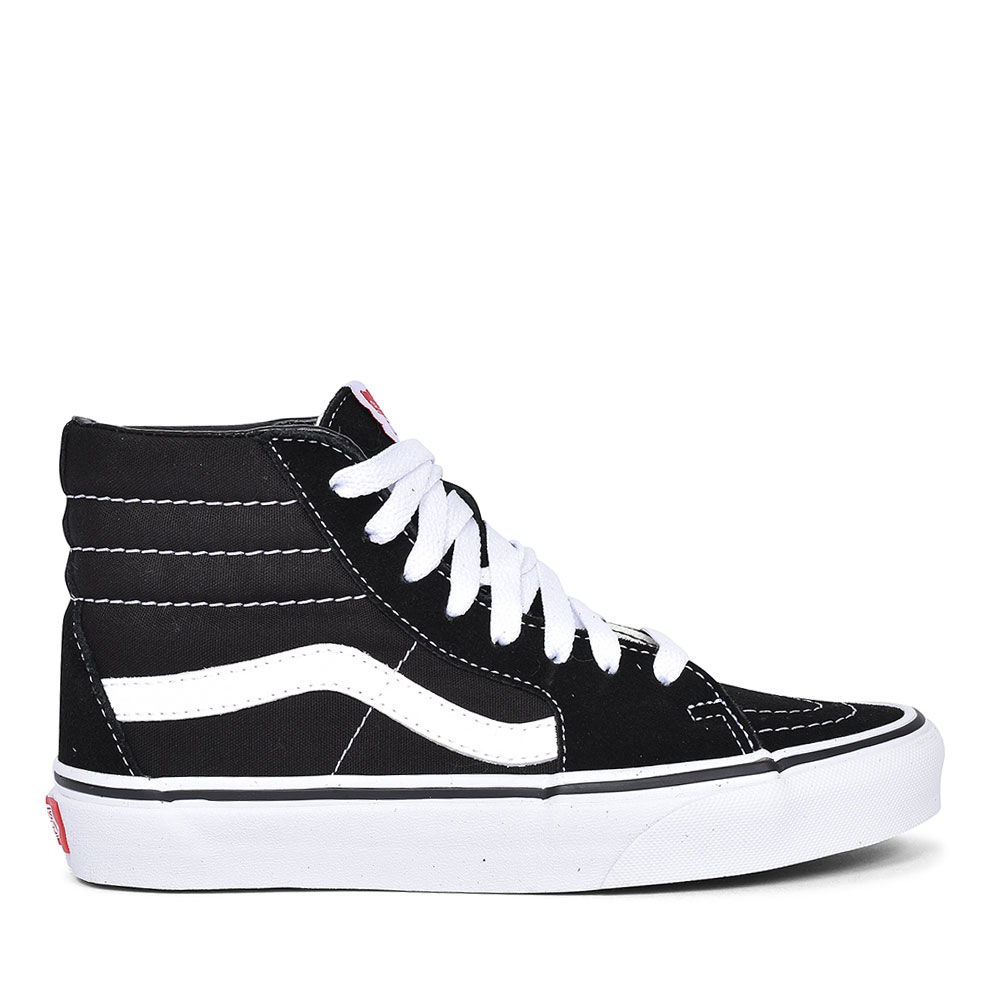 SK8-HI TOP TRAINER in BLACK