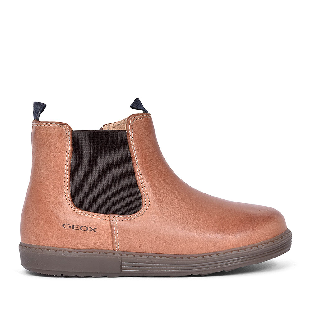 HYNDE ANKLE BOOTS FOR BOYS in TAN