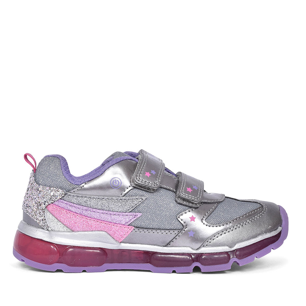 ANDROID TRAINERS FOR GIRLS in SILVER